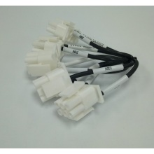 H07V-K 2.5mm2 cable with pitch 6.0 male housing