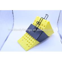 China Hecho rueda Chock / Keeper / Wheel tapón amarillo 125051 + 125013