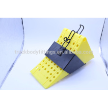 China Made Wheel Chock/ Keeper /Wheel stopper yellow 125051+125013