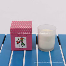 Water Lily Scented Soy Wax Candle