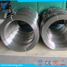 201 polimento de gás de aço inoxidável blindado fio de solda