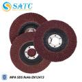 red aluminum oxide abrasive flao discs for polishing