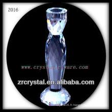 Bougeoir en cristal populaire Z016
