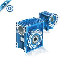 Reductor de engranaje eléctrico del motor de la caja de engranajes del gusano manual de NMRV