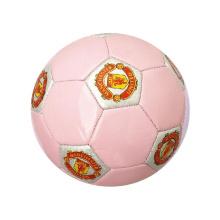 Bola suave de encargo promocional del logotipo de la impresión del regalo del fútbol del PVC para el regalo del bebé