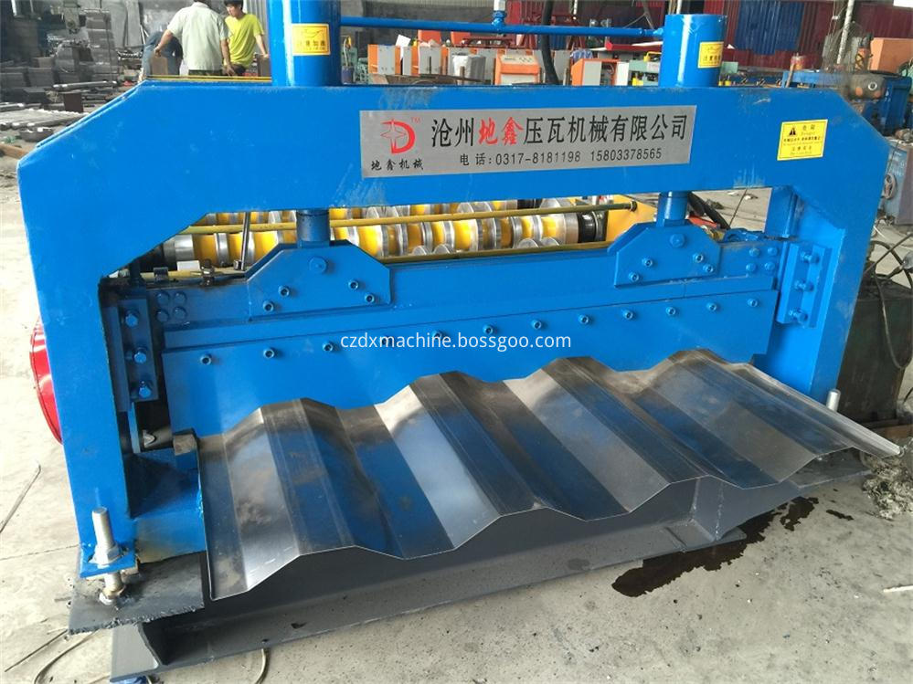 New container roof colored steel sheet machines