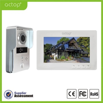 Telepon Pintu Video Warna Night Vision 7 inci
