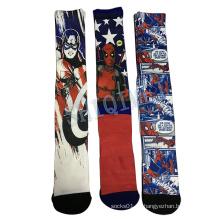 Heißer Verkauf nahtlose Polyester Heat Transfer Sublimation Druck Socks
