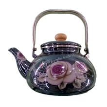 Фарфоровый эмалевый чайник, эмалевый чайник, эмалированная посуда, чайник из углеродистой стали