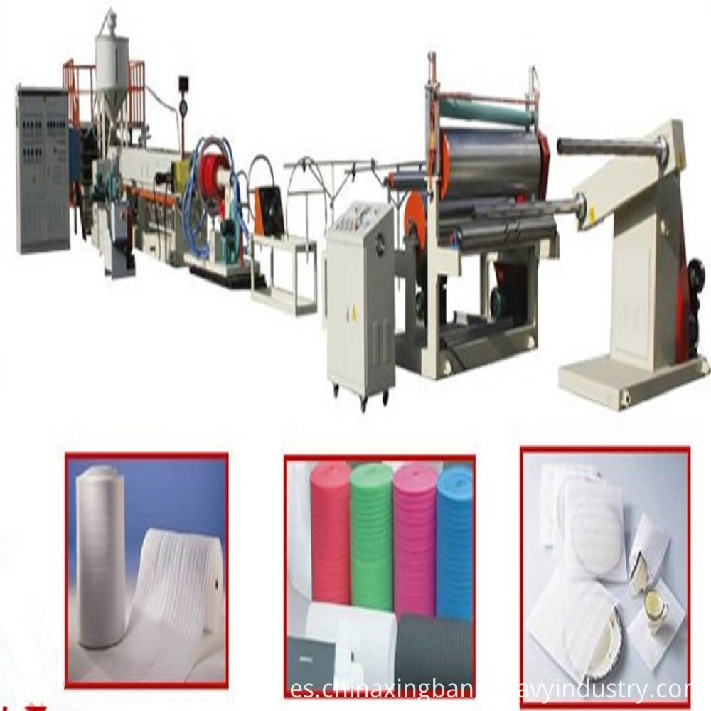 Foaming Extruding Line For Epe Plate (1)