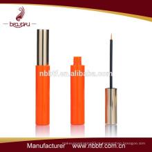 Cosméticos moda ronda plástico eyeliner tubo de fabricação