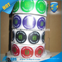 Private Logo Sticker, Customized Printing Adhesive Paper Label