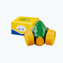 Half Face Dust Mist Powered Air Waschbare Partikel Atemschutzmaske Schutzfilter Typen Gasmaske