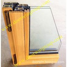 Solid Teak Wood Aluminum Windows