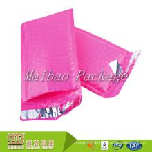 Fabrik-Großhandelspreis-Superwasserfeste Schlag-beständige Gewohnheit 4x8 rosa Polyblasen-Versandtaschen