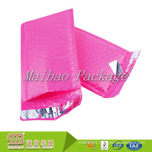 Factory Wholesale Price Super Waterproof Shock Resistant Custom 4x8 Pink Poly Bubble Mailers