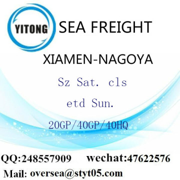 Xiamen Port Sea Freight Shipping ke Nagoya