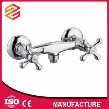 sanitary ware fashion bathroom mixer dual handle bathroom faucet wall mounted shower mixer taps