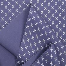 Ткань с принтом из хлопкового поплина, подходящая для мужчин