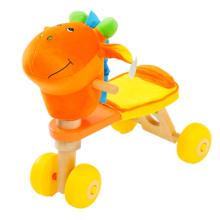 Хорошее качество Детский деревянный велосипед с головой осла