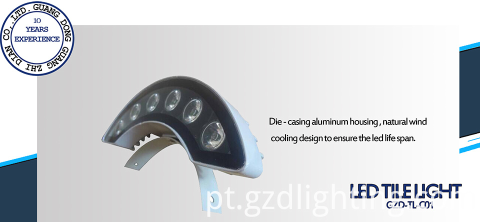 led corrugated lights