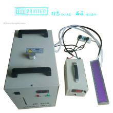 Máquina de cura UV do diodo emissor de luz da mobília Handheld de TM-LED1020 para revestimentos curados UV do assoalho