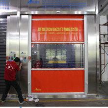 High speed door system automatic rapid roll up doors