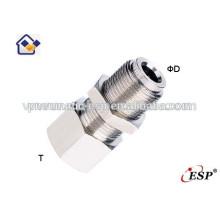 нинбо ЭСП женские прямые пневматические металлические фитинги разъемы