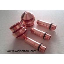 plasma electrode and nozzle plasma torch consumables 220352+220354