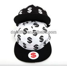 Печатание и охлаждают шлем snapback способа 6 панелей сделанный в фарфоре