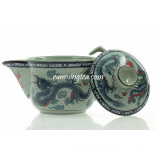 200cc Traditional Dragon & Phenix Ceramic Tea Pot