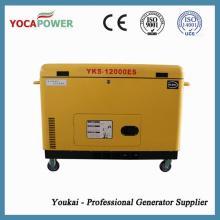 10kVA Soundproof diesel gerador elétrico geração de energia