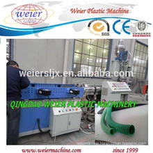 high speed of plastic PP PE PVC corrugated pipe extrusion line