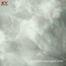 Chinese New Produce White Inorganic Fibers Glass High-alkali Wool