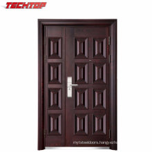 TPS-024A Cheap Exterior Bank Security Steel Single Door Design