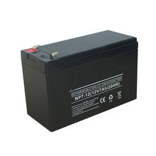 12v 7ah Deep Cycle Rechargeable Sealed Lead Acid Battery For Ups