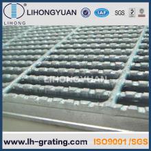 Verzinkte gezackten Stahlvergitterung für Struktur-Plattform