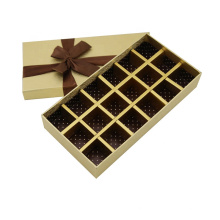 Hot sale chocolate packaging boxes custom LOGO chocolate truffles Paper packaging gift box For Chocolate Gift Packaging