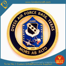Custom Air Force Gold Finished Coin