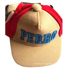 Chapeaux de casquette de sport pour animaux de compagnie à la mode