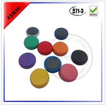colorful plastic magnetic button custom made for whiteboard