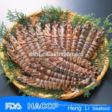 HL002 melhor preço camarão congelado selvagem e frutos do mar