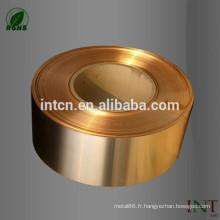 Grade de phosphures de cuivre C51900 C5191