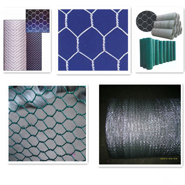 PVC Coated Hexagonal Chicken Wire Mesh