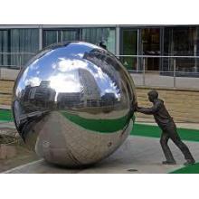 bolas de aço inoxidável de escultura VSSSP-05S