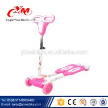 Оптовые новые модели дети 4 колеса скутера/Pro складной пипец малышей 4 колеса скутера/облегченный алюминиевый дешевые дети скутер