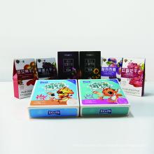 Caja de empaquetado del regalo de la comida del diseño elegante