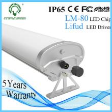 Quallity 1,5 м IP65 светодиодные водонепроницаемые светильники с 5 лет Warrany