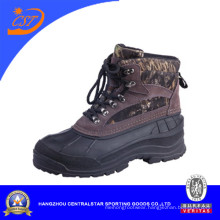 Mens Warm Leather Hiking Snow Shoes