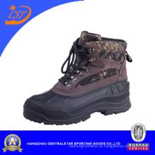 Botas de camurça couro Camo neve botas de inverno (XD-122)